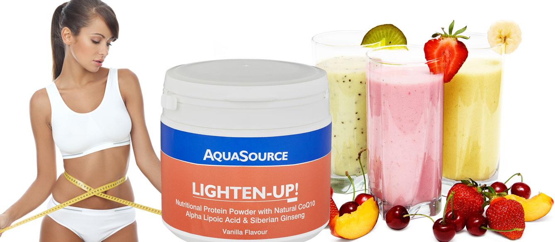 AQUASOURCE, Програма за регулиране на теглото LIGHTEN-UP